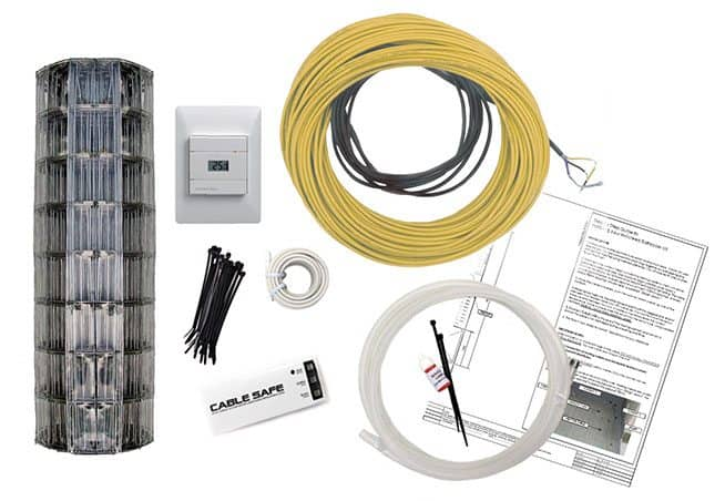 comfort heat diy electric underfloor heating kits